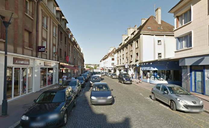 Rue du Docteur Oursel, à Evreux @illustration