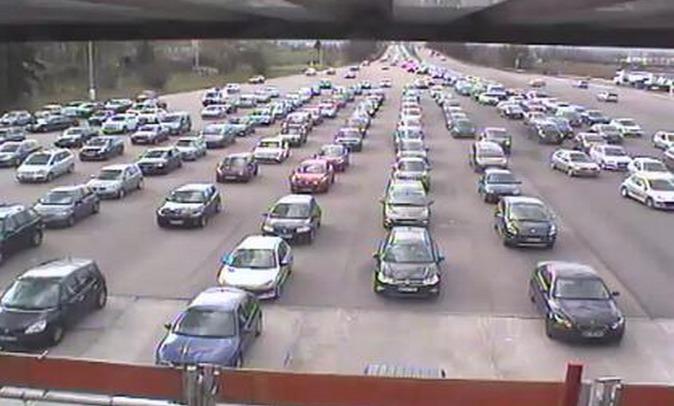 L'autoroute A 13 quasiment paralysée dans le sens Normandie - Paris