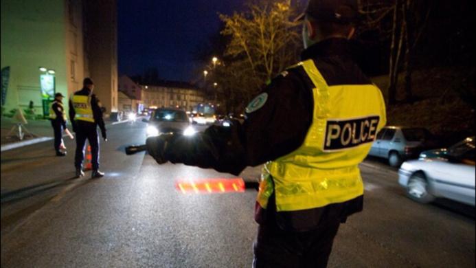 @illustration d'un contrôle de police