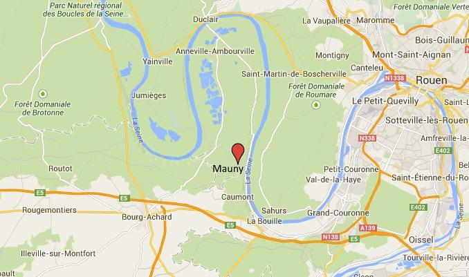 Le corps a été découvert dans la Seine à hauteur de la commune de Mauny