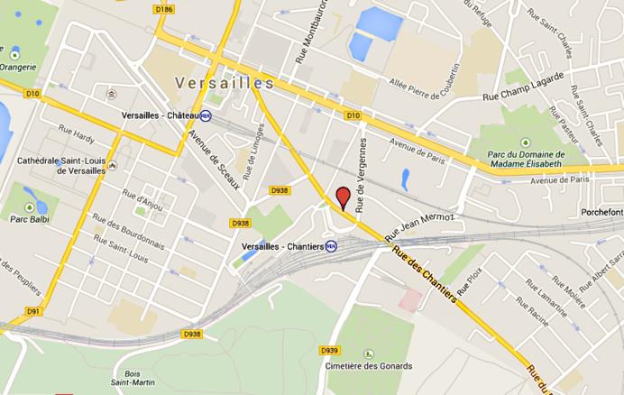 Un motard tué dans une collision rue des Chantiers à Versailles