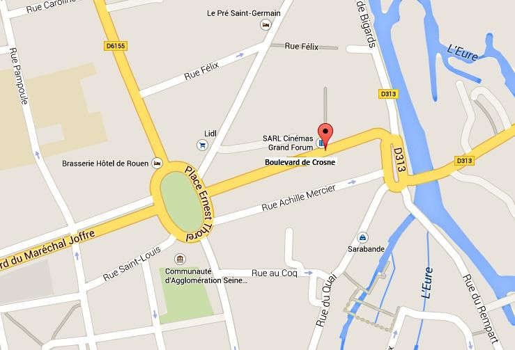 Une personne gravement brûlée et six autres intoxiquées dans un incendie ce matin à Louviers