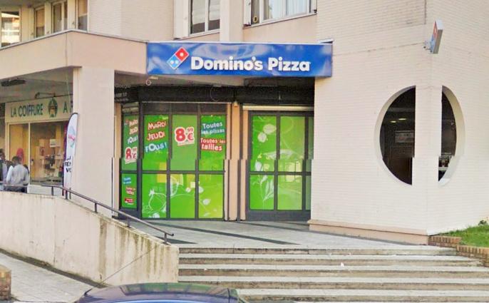 Domino's Pizza, 7, avenue des Ursulines à Poissy (Illustration)