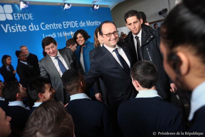 Le chef de l'Etat était allé visiter en février dernier un centre EPIDE en Seine-et-Marne. Cette fois, il vient à Alençon