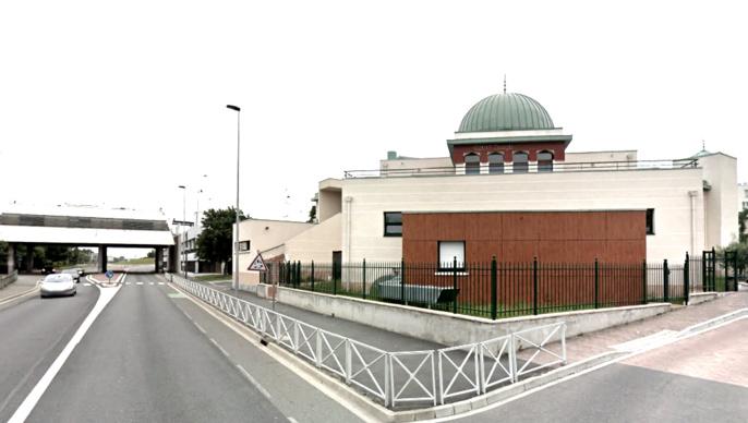 L'agression s'est produite à proximité de la mosquée de Chanteloup-les-Vignes (Illustration)
