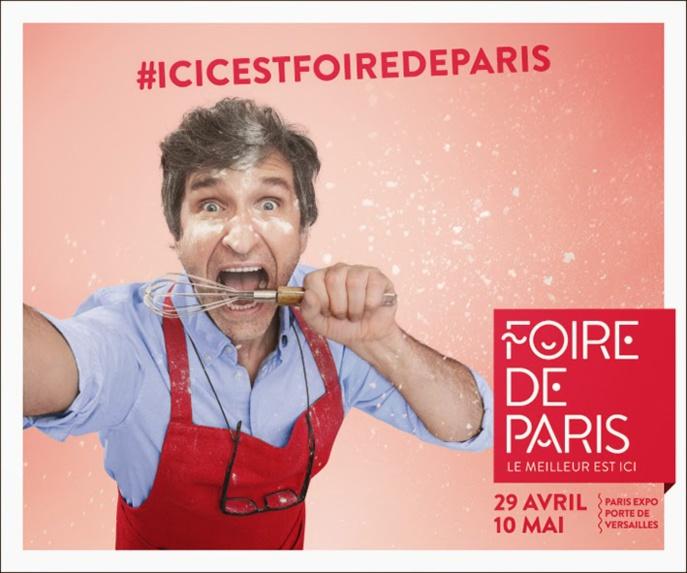La foire internationale de Paris draine des milliers de visiteurs chaque jour à la Porte de Versailles