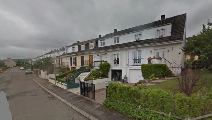 Le drame est survenu dans une de ces maisons de la rue Jean-Lurçat (Illustration)
