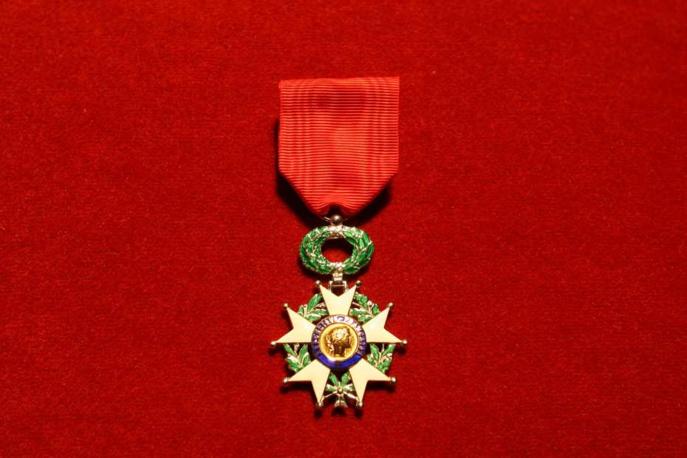 L'insigne de la Légion d'honneur