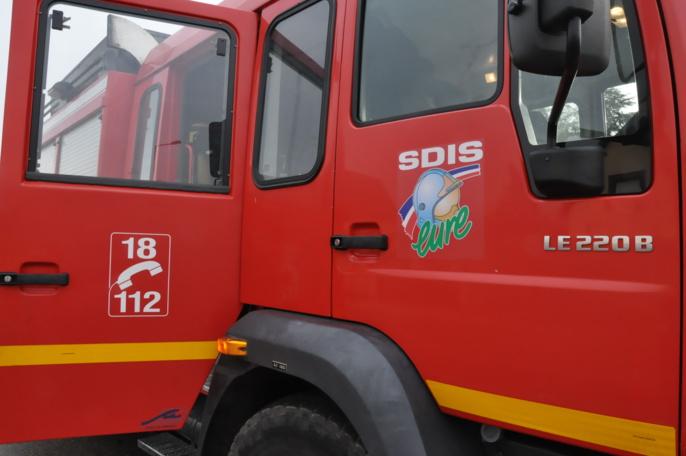 Eure : un pavillon ravagé par un incendie près de Bernay