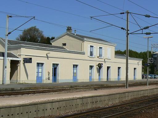 La gare de Motteville (photo @DR)