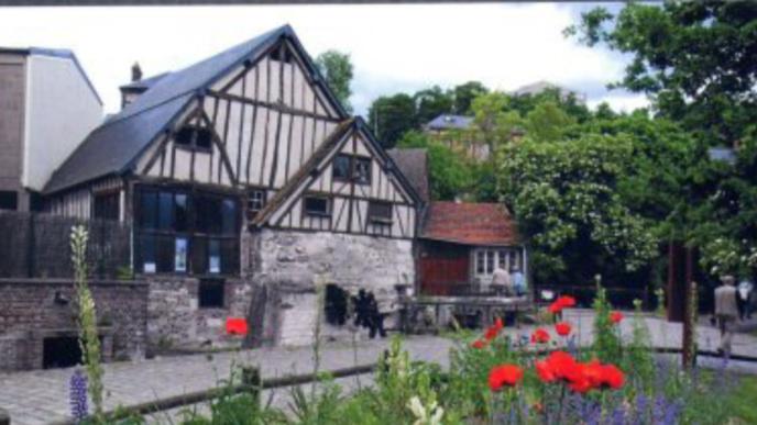 Rouen : animations au Moulin de la Pannevert autour de l'exposition d'un peintre et sculpteur local