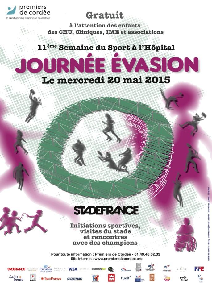 Des sportifs de haut niveau à la rencontre des enfants au Stade de France