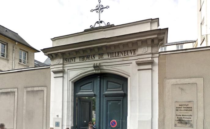 Saint-Germain-en-Laye : lycéens chahuteurs à l'institut Saint-Thomas de Villeneuve