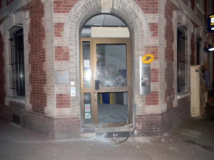 Le bureau de Poste de Pacy-sur-Eure