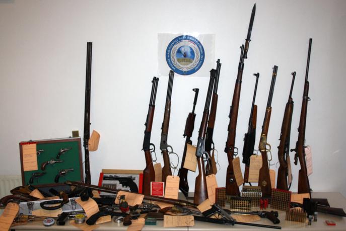 Yvelines : il détenait une cinquantaine d'armes et des munitions sans autorisation