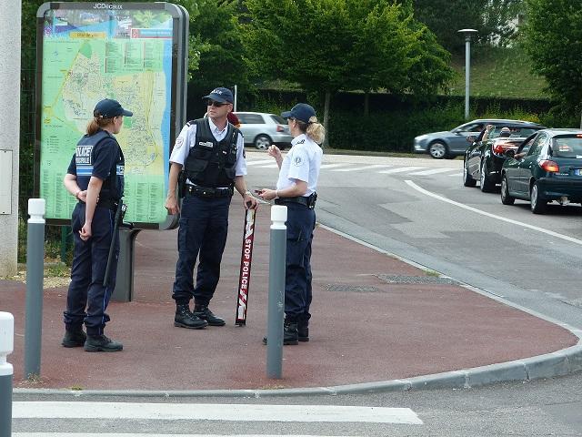 Une quarantaine de policiers ont été déployés dans l'agglomération de Rouen pour cette opération destinée à lutter contre les vols par effraction (@Illustration)