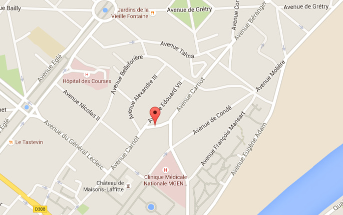 Yvelines : un cycliste en arrêt cardio-respiratoire décède sur la voie publique, à Maisons-Laffitte