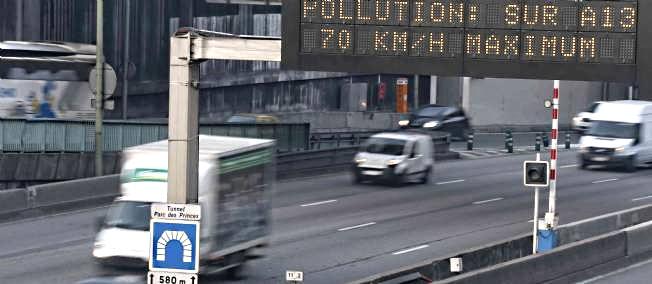 Illustration@DR. Parmi les recommandations du préfet de l'Eure, réduire sa vitesse de 20 km/h