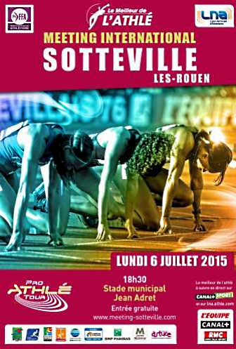 Meeting international d'athlétisme de Sotteville : une affiche de haute tenue
