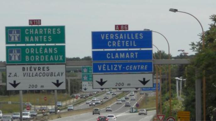 Circulation difficile sur l'A86 entre Saint-Maurice et Petit-Clamart (Val de Marne)