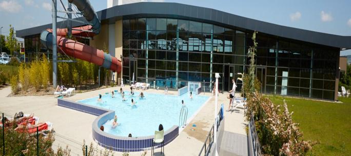 Le centre aquatique implanté pas très loin de la caserne des pompiers est resté fermé tout le week-end  (Photo @DR)