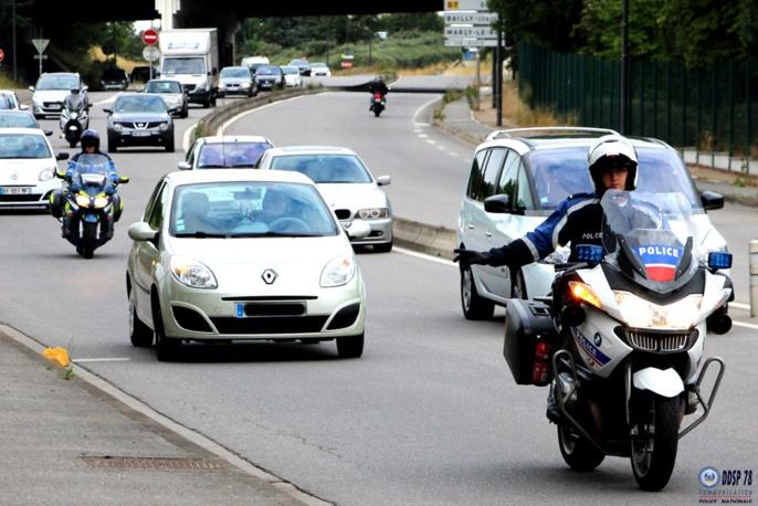 126 infractions ont été relevées en trois heures de temps ce mercredi matin sur la RD 307, entre Bailly et Mareil-sur-Mauldre (Photo @DDSP78)