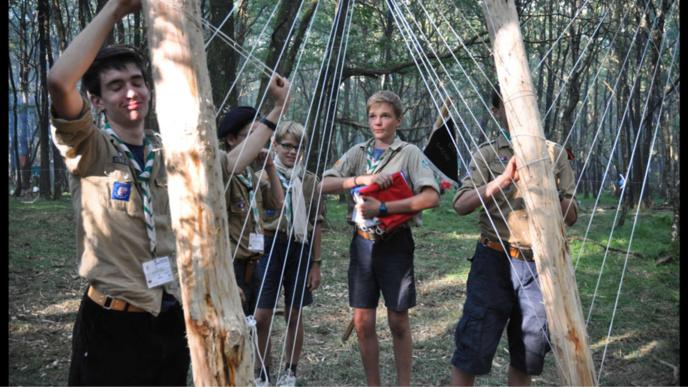 Plus d'un millier de guides et scouts d'Europe de Normandie partent en camp d'été