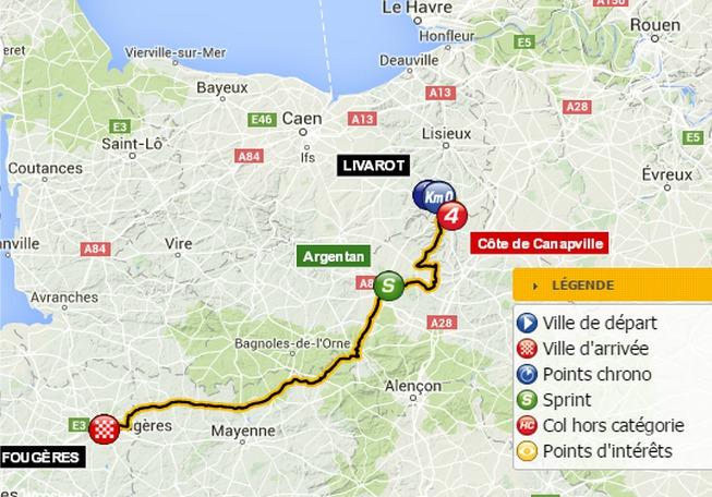 Tour de France cycliste : les infos pour suivre la 7e étape Livarot-Fougères aujourd'hui
