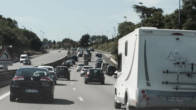 Plus de 500 km de bouchons ce soir sur les routes de l'Hexagone