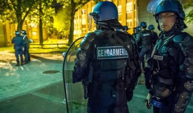 Photo d'illustration de gendarmes en intervention @DR