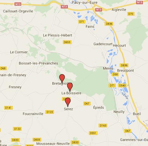 Nouveaux incendies dans l'Eure : 60 pompiers mobilisés ce jeudi après-midi