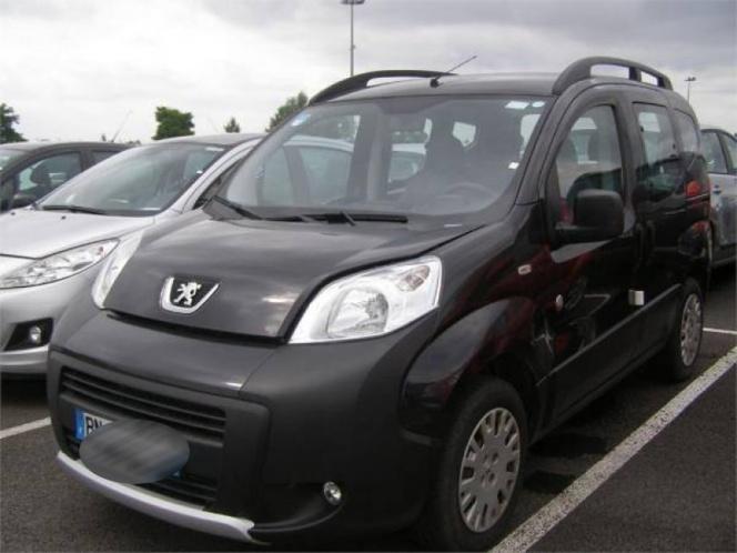 Le véhicule Peugeot Bipper de la femme disparue ressemble à celui-ci (Photo d'illustration)