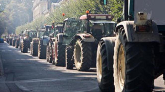 Depuis des semaines, les agriculteurs sont à l'origine d'actions contre les grandes surfaces (Photo d'illustration)
