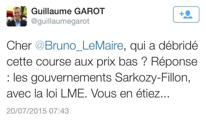 Guillaume Garot (Parti socialiste) est député de la Mayenne, ancien ministre