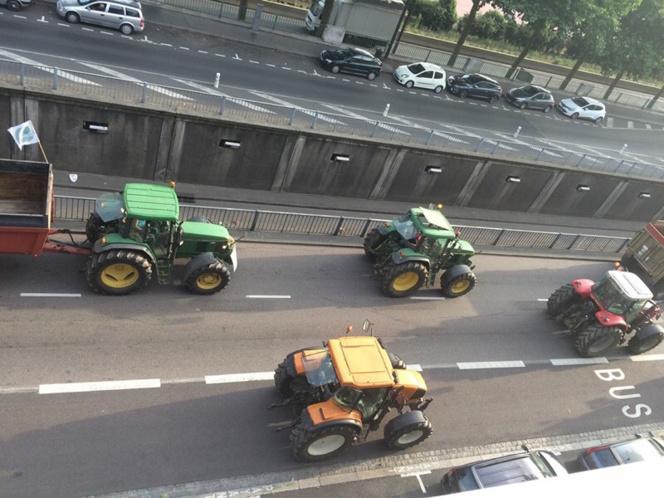 Manifestations d'agriculteurs : toujours des blocages à Rouen, le Havre et Evreux