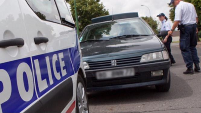 Photo d'illustration d'un contrôle de police
