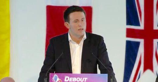 Nicolas Calbrix est tête de liste Debout la France pour la Normandie aux prochaines élections régionales