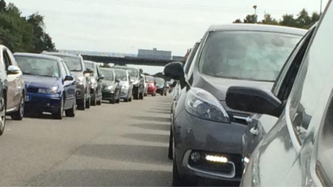 #InfoRoute. Trafic ralenti sur l'A13 vers Caen, après Pont-Audemer