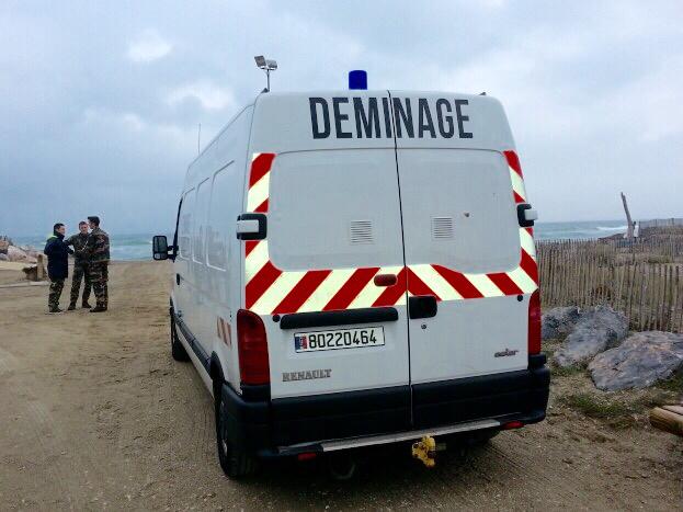 Les plongeurs-démineurs de Cherbourg devaient prendre en charge l'engin explosif en vue de la détruire (Photo d'illustration @francebleu.fr)