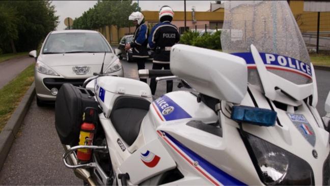 Illustration @DGPN. Les motards du commissariat de police du Havre n'ont pas lâché prise : le fuyard a été retrouvé et interpellé