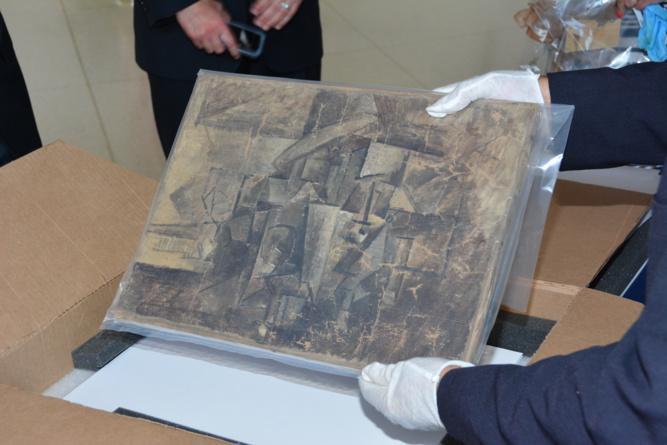 « La Coiffeuse » de Picasso, un chef d'œuvre volé en 2001, restitué à la France par les Etats-Unis