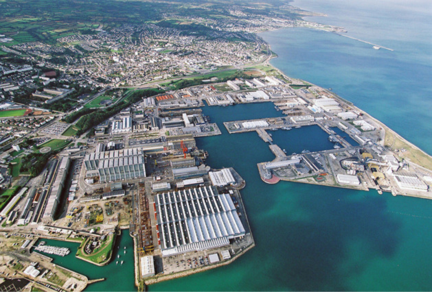 La base navale de Cherbourg @Marine nationale