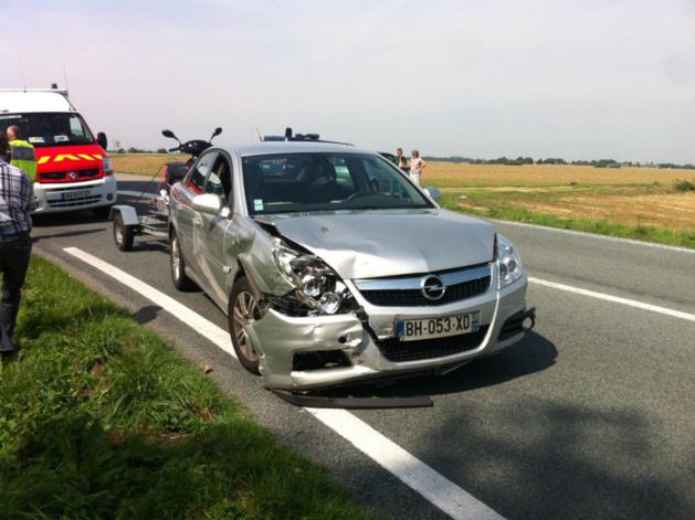 Eure : un automobiliste de 88 ans tué sur le coup dans un accident de la route à Écardenville