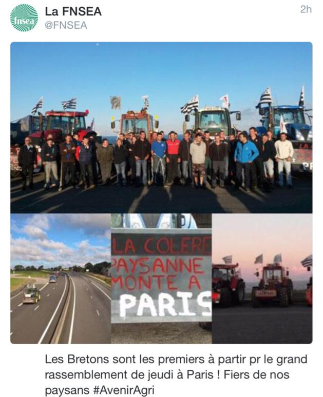 Manifestation agricole de Paris : premières difficultés de circulation attendues dans l'Eure
