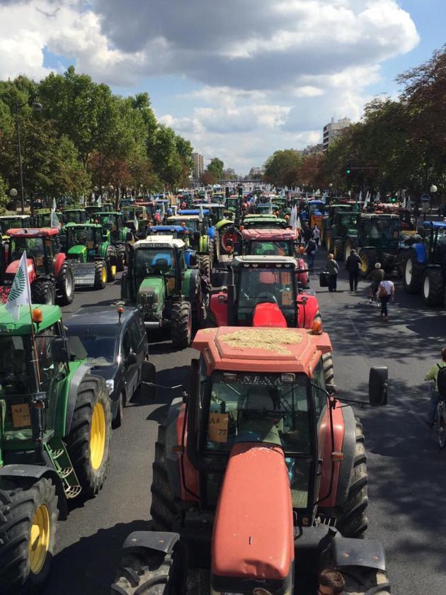 Manifestation des agriculteurs : fin des perturbations sur l'A13