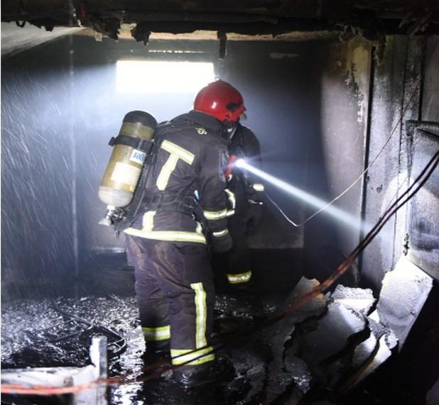 Les moyens de sept centres de secours du département ont été engagés @SDIS78/A.Colin