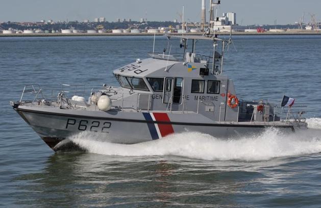 La vedette côtière de surveillance maritime Esteron de la gendarmerie maritime (Photo : Guillaume Rueda/meretmarine.com)
