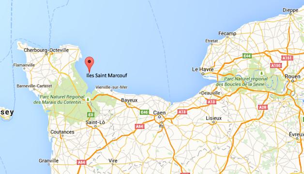 Sauvetage de 16 personnes échouées aux îles Saint Marcouf, cet après-midi