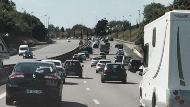 #InfoRoute. Trafic soutenu en Île-de-France : 114 km de bouchons ce soir à 17h30