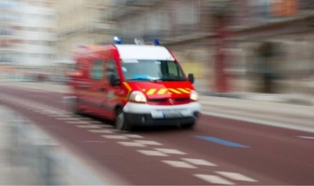 Illustration. Le second blessé a été transporté à l'hôpital par les sapeurs-pompiers